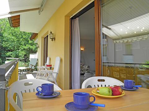 Bild von Ferienhaus am Comersee Al_Motto_Cremia_10_Balkon