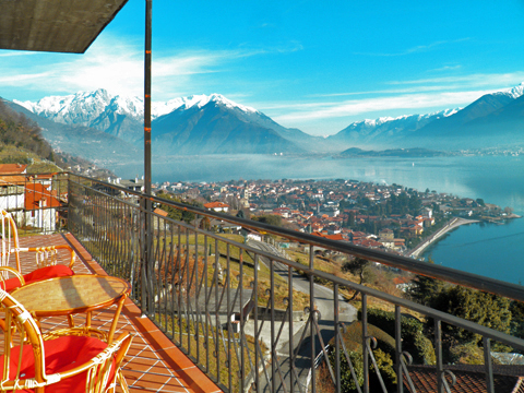 Picture of Lake Como apartment Alex_Primo_Domaso_10_Balkon