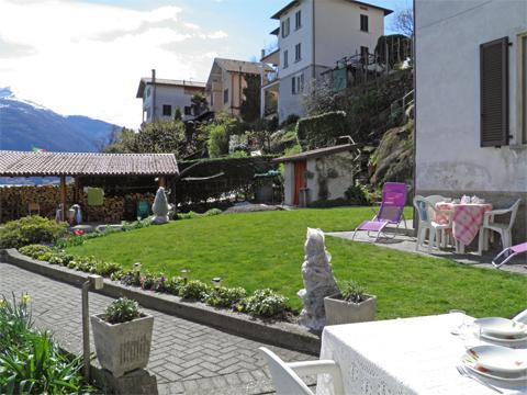 Bild von Ferienhaus am Comersee Alla_Spiaggia_Pianello_del_Lario_20_Garten