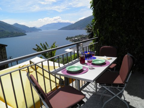 Picture of Lake Como apartment Amarone_Gravedona_10_Balkon