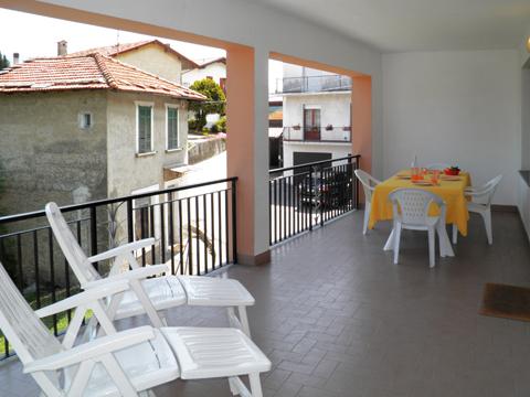Bild von Ferienhaus am Comersee Ambrogio_Cremia_10_Balkon