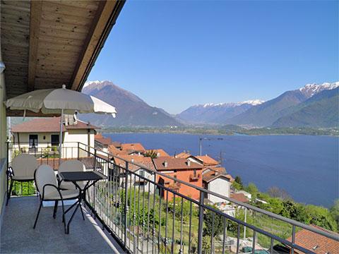 Bild von Ferienhaus am Comersee Bella_Vista_Secondo_Vercana_10_Balkon