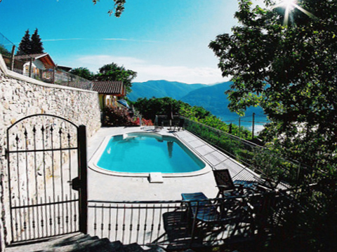 Picture of Lake Como apartment Bellissime_Quarto_823_Bassano-Tronzano_15_Pool
