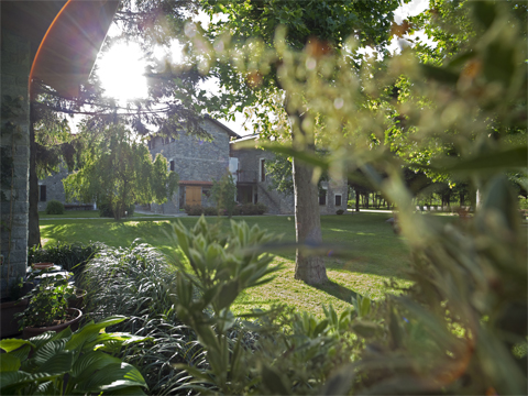 Picture of Lake Como apartment Cascina_Borgofrancone__20_Garten