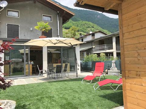 Picture of Lake Como apartment Cavilla_Villa_di_Tirano_10_Balkon