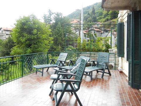 Bild von Ferienhaus am Comersee Cesari_Primo_2483_Tronzano_10_Balkon