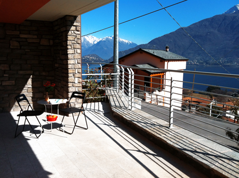 Bild von Ferienhaus am Comersee Cristina_Pianello_del_Lario_10_Balkon
