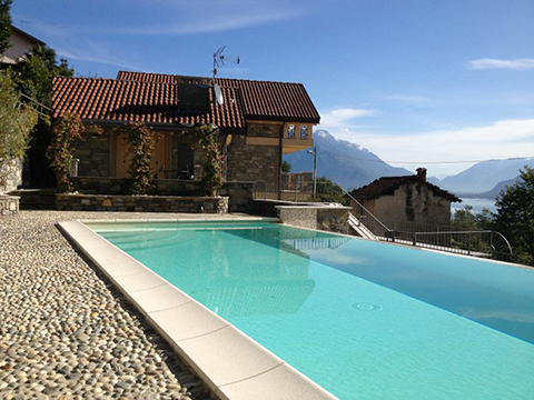 Bild von Ferienhaus am Comersee Giglio_Viola_Gravedona_15_Pool