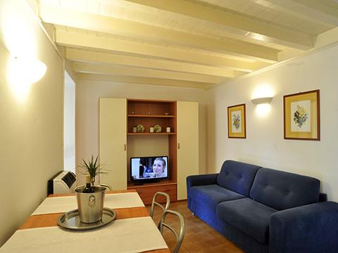 Picture of Lake Como apartment Heart_of_Bellagio_-_2_Bellagio_30_Wohnraum