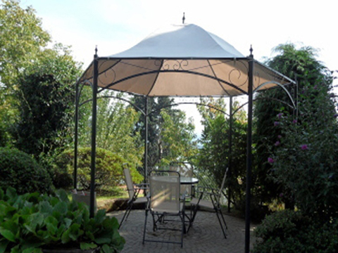 Bild von Ferienhaus am Comersee La_Quiete_819_Baveno_20_Garten
