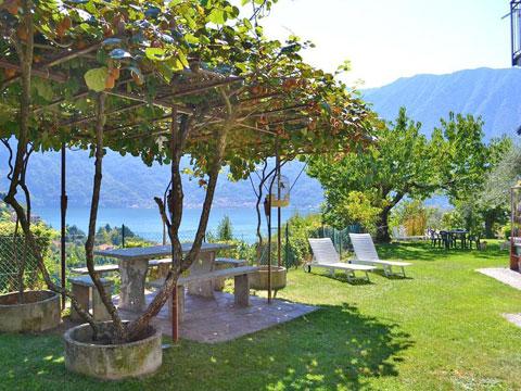 Bild von Ferienhaus in Italien Comer See Ferienwohnung in Ossuccio Lombardei