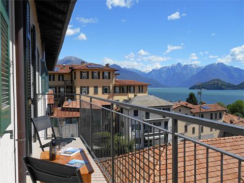 Picture of Lake Como apartment Liliana_Pianello_del_Lario_10_Balkon