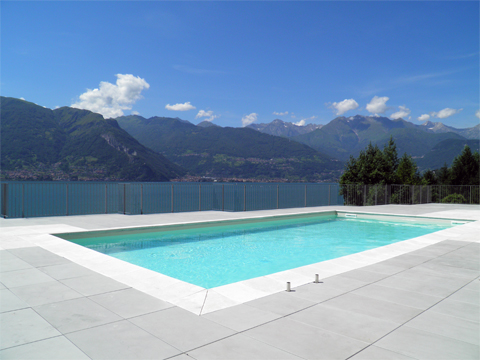 Picture of Lake Como apartment Mery__15_Pool