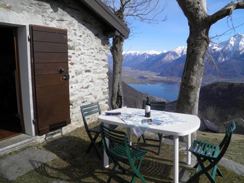 Bild von Ferienhaus in Italien Comer See Rustico in Peglio Lombardei
