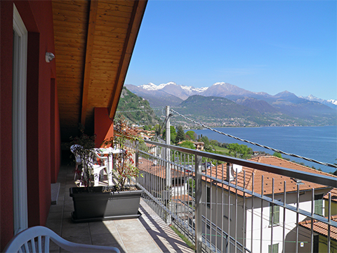 Bild von Ferienhaus am Comersee Nella_Pianello_del_Lario_10_Balkon
