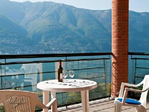 Bild von Ferienhaus am Comersee Pensiero_4008_Tronzano_10_Balkon