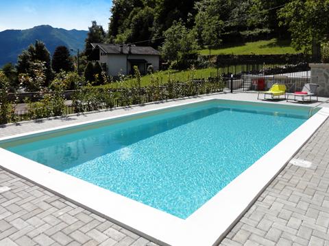 Bild von Ferienhaus am Comersee Riva_Sole_Gera_Lario_15_Pool