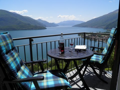 Picture of Lake Como apartment Sangiovese_Gravedona_10_Balkon