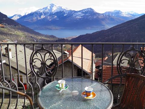 Picture of Lake Como apartment Titti_Dosso_del_Liro_10_Balkon