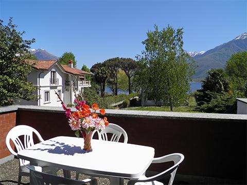 Bild von ferienhaus am Comersee Al_Lago_Domaso_10_Balkon