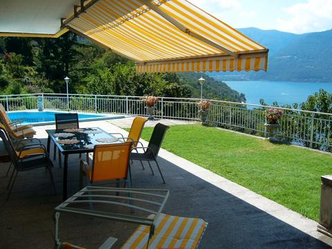 Bild von ferienhaus am Comersee Carina_539_Tronzano_10_Balkon