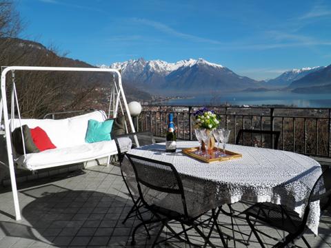 Bild von ferienhaus am Comersee Casa_Dongo_10_Balkon