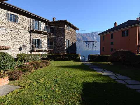Bild von ferienhaus am Comersee Pescallo_primo_piano_Bellagio_20_Garten