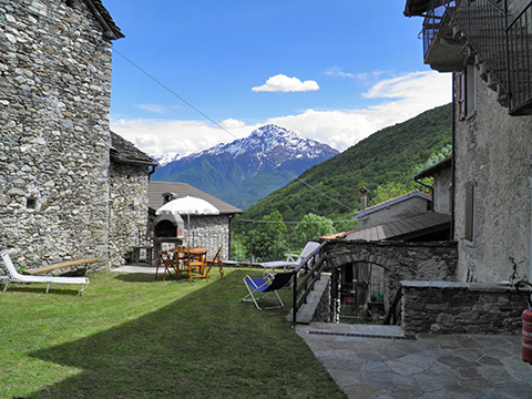 Bild von ferienhaus am Comersee Serravalle_Livo_20_Garten