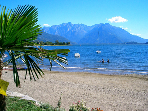 foto di Dongo sul lago di Como